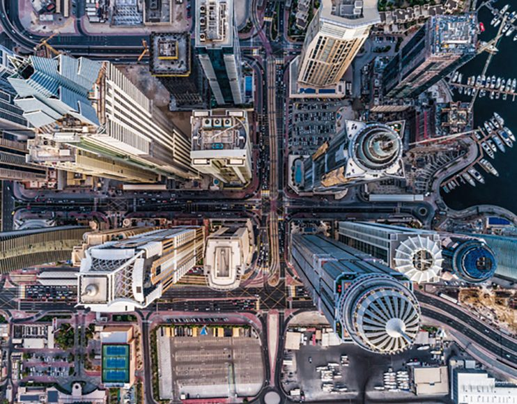 """Platz eins in der Kategorie """"Stadtansichten"""" - die Aufnahme Concrete Jungle des libanesischen Fotografen Bachir Moukarzel."""