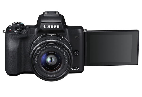 BEST MIRRORLESS CSC ENTHUSIAST: Canon EOS M50
