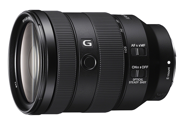 BEST CSC STANDARD ZOOM LENS: Sony FE 24-105 mm F4 G OSS