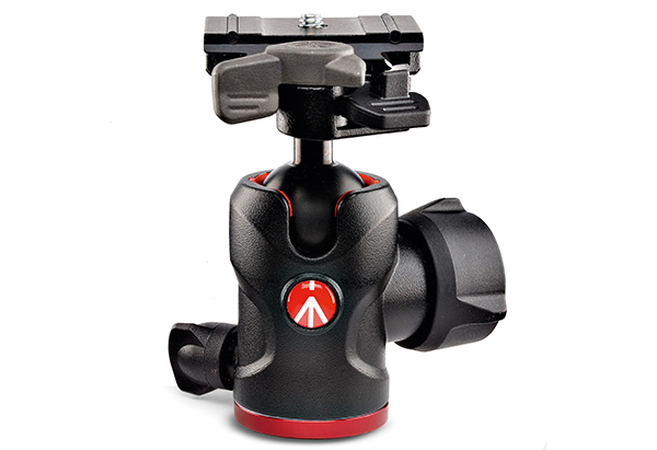 BEST TRIPOD HEAD: Manfrotto 494 Center Ball Head
