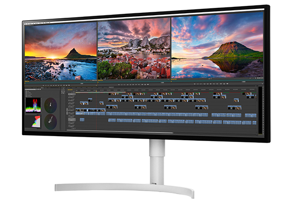 "BEST PHOTO MONITOR: LG 34WK95U-W 34"" 5K UltraWide Nano IPS LED Monitor"