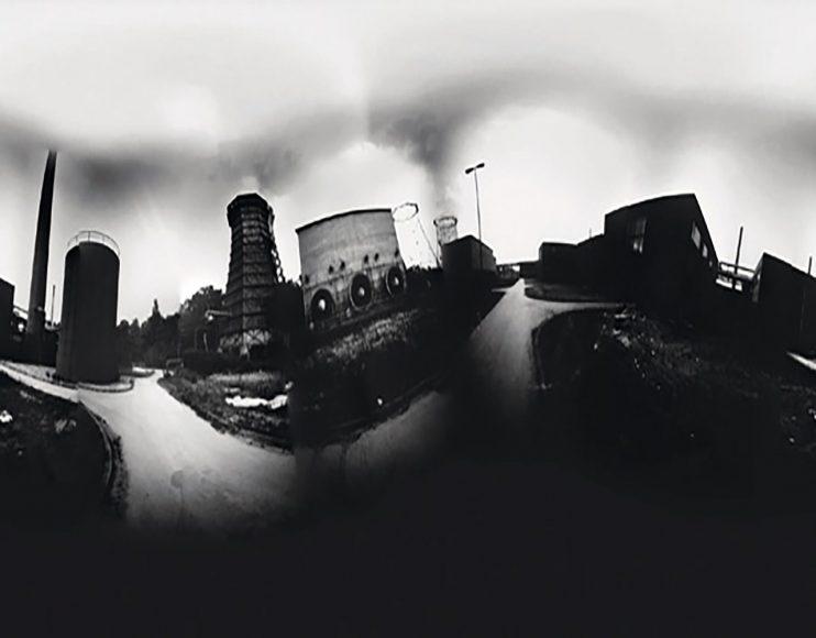 """""""Die Kokerei auf Zeche Zollverein ist mir spontan ins Auge gefallen"""", erinnert sich Wanja Hohmeier. Der Bildaufbau ist den Anforderungen der 360-Grad-Fotografie geschuldet und liefert ausreichend Platz rings um die Gebäude herum."""