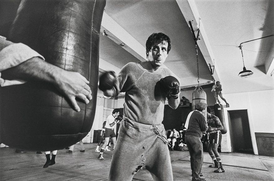 Im Training kannte Rocky keine Grenzen. Egal ob in der Halle, im Kühlhaus oder in der sibirischen Kälte.