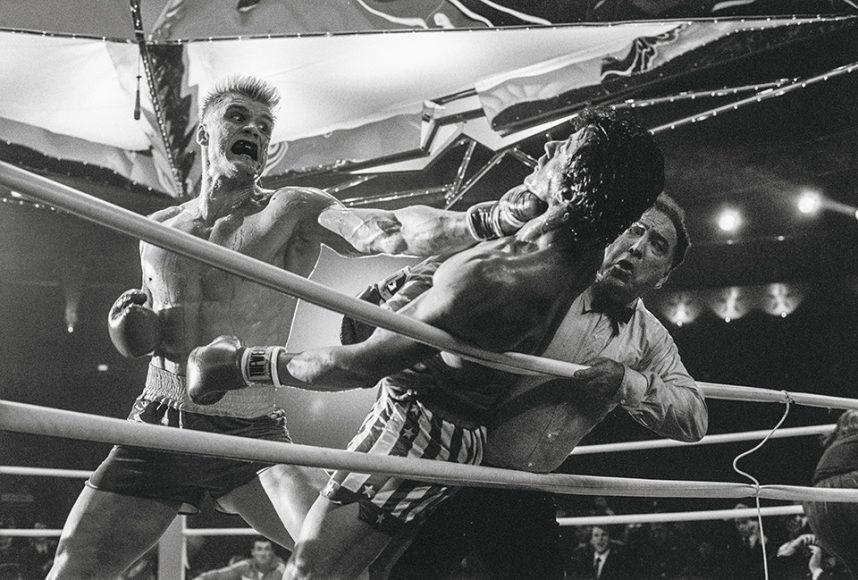 """In """"Rocky IV - Der Kampf des Jahrhunderts"""" stellt sich Balboa dem sowjetischen Boxer Ivan Drago, der zuvor seinen Freund Creed im Ring tödlich verletzte."""