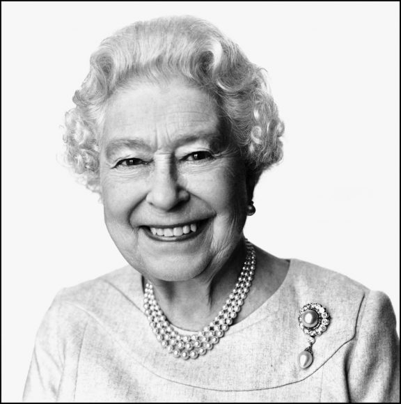 Her Majesty The Queen, 2014 © David Bailey