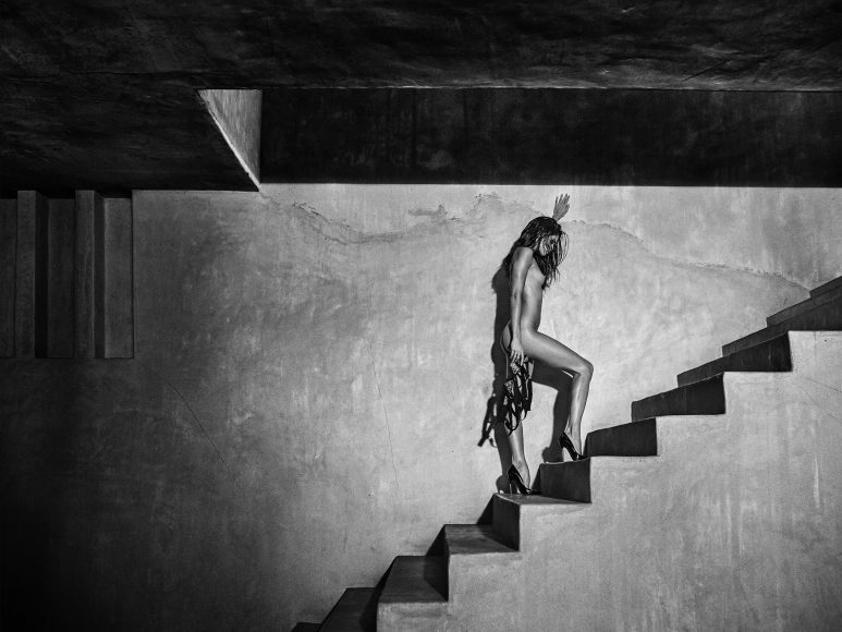 ©RUSSELL JAMES, SARA MOROCCO STAIRS, 2016