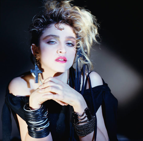 George Holz Madonna, Hollywood, 1983, © George Holz