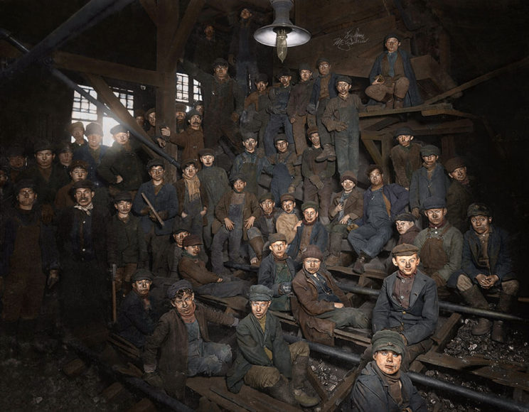 Foto: Library of Congress: Lewis Hine / Bearbeitung: Dominique Grosse