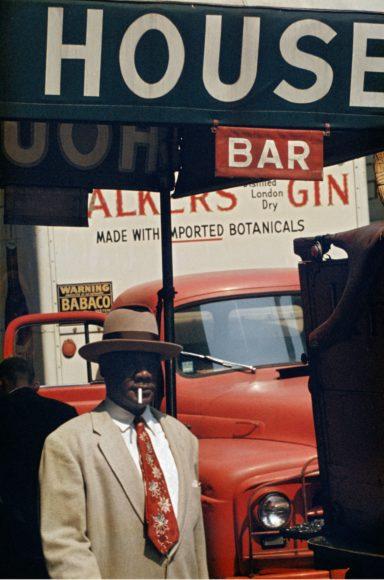 Saul Leiter, Harlem, 1960, © Saul Leiter Foundation