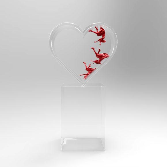 David Drebin Falling in Love, 2015 Photo Sculpture © David Drebin courtesy HIGH10 Collection