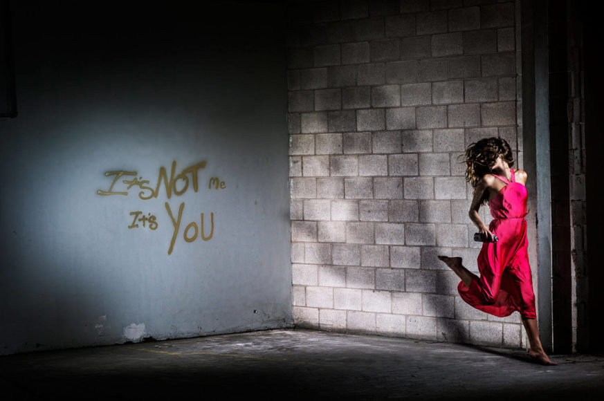 David Drebin It's Not Me, It's You, 2014 C-Print, mounted on aluminum © David Drebin courtesy HIGH10 Collection