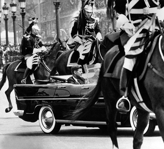 © Harry Benson, 1961, JFK  DeGaulle Paris