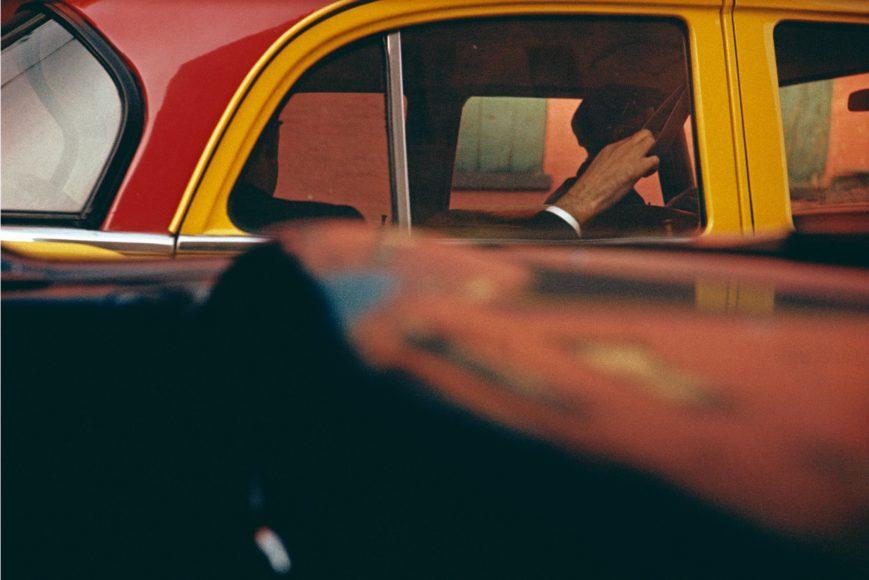 Saul Leiter, Taxi, ca.1957, © Saul Leiter Foundation
