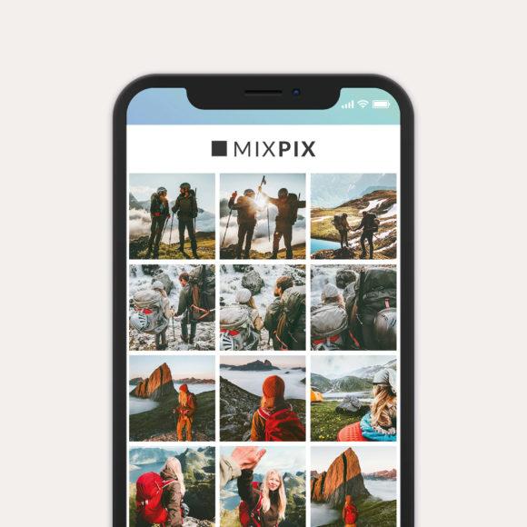 Einfach online: Die MixPix- Bestellung ist kinderleicht. Sie können die Bilder direkt vom Handy oder am PC per Multi Upload-Funktion übertragen.