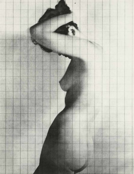 © Erwin Blumenfeld | courtesy Howard Greenberg Gallery, NYC, Nude Under Grid, New York, 1950