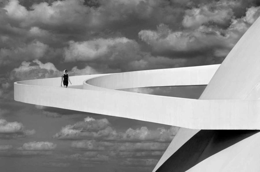 © Olaf Heine | courtesy the artist, Girl Descending A Ramp, Brasilia, 2012