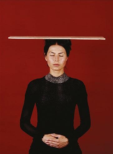 "© KATHARINA MAYER ""Tetjanablind"", 2002"