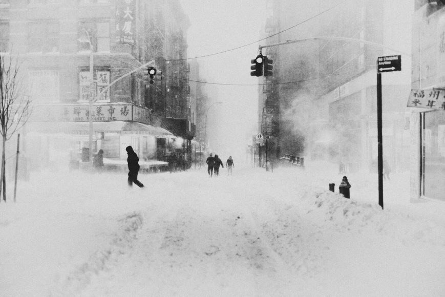© Bastiaan Woudt, Blizzard NY III, 2016, Archival Pigment Print on Inova Baryta Paper, 90 x 120 cm, Edition of 10 & 2 AP