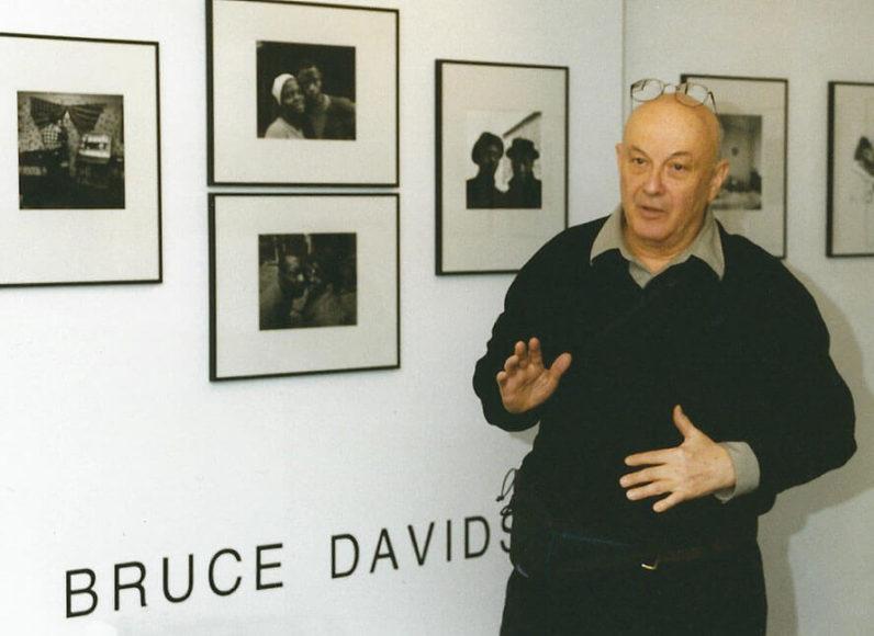 Bruce Davidson 1999 zu Gast in der in focus Galerie Köln
