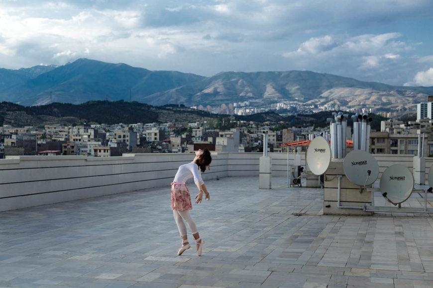 """Ballettänzerin"", © Shirin Abedi"