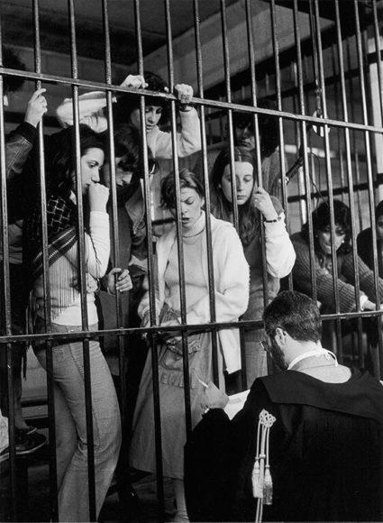© Giovanna Borgese: Le ragazze di Prima Linea. Torino, 1981