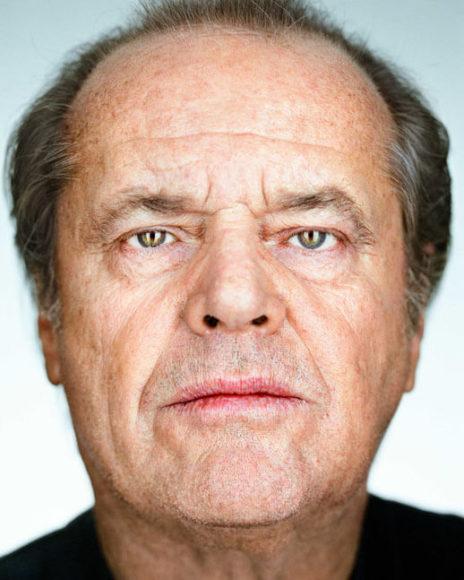 © Martin Schoeller, Serie Close Up: Jack Nicholson, 2002