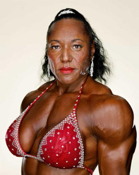 © Martin Schoeller, Serie Female Bodybuilders: Carmella Cureton, 2007