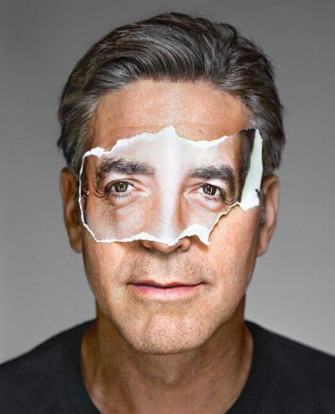 © Martin Schoeller, Serie Portraits: George Clooney, 2008