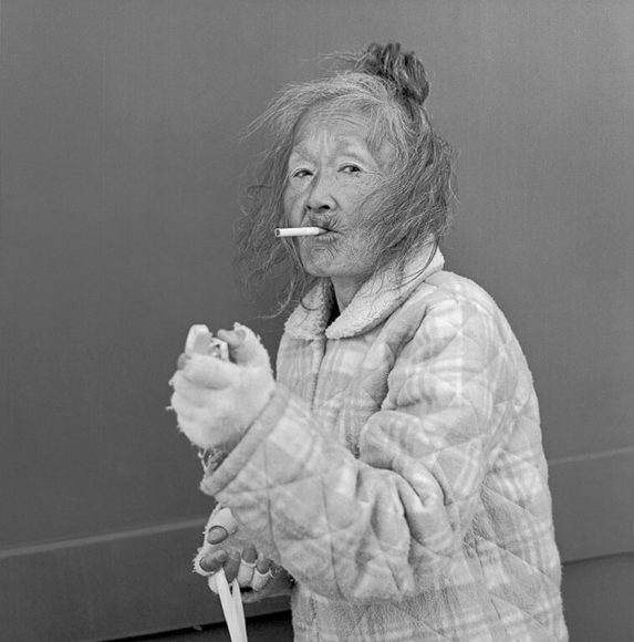 © Hiroh Kikai, A lady smoking hi-lite | Courtesy Hiroh Kikai