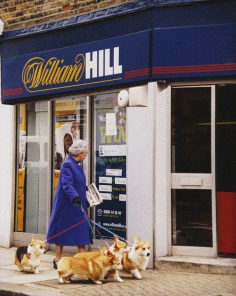 © Alison Jackson / Courtesy of Camera Work: Queen at William Hill