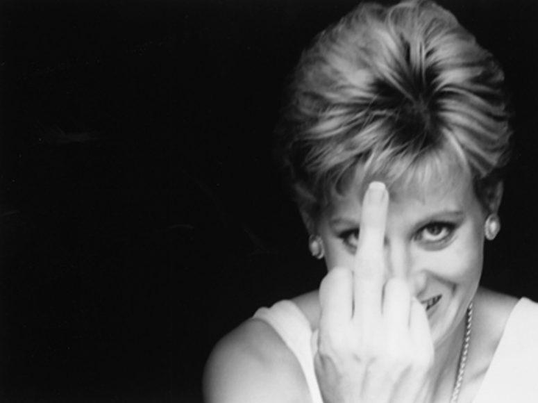 © Alison Jackson / Courtesy of Camera Work: Diana Finger Up
