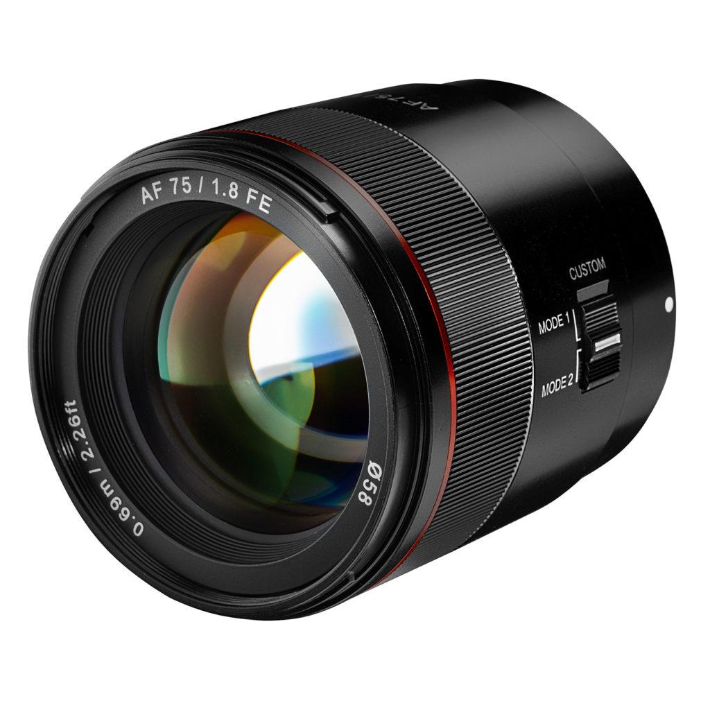 Samyang 1,8/75 mm für Sony-Vollformat