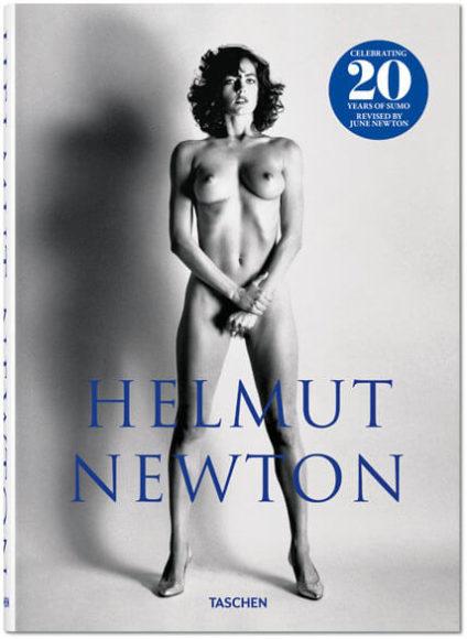 Helmut Newton. SUMO, 20th Anniversary Edition / Helmut Newton, June Newton / Hardcover mit Begleitheft im Schuber / 26,7 x 37,4 cm, 6,07 kg, 464 Seiten / ISBN 978-3-8365-7819-6 (Deutsch, Englisch, Französisch).