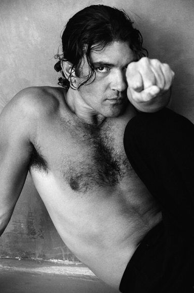 Antonio Banderas, Los Angeles 1994 © Greg Gorman