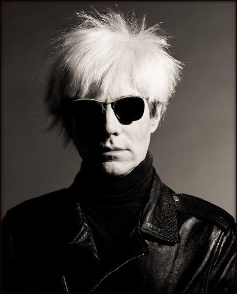 Andy Warhol, Los Angeles 1986 © Greg Gorman