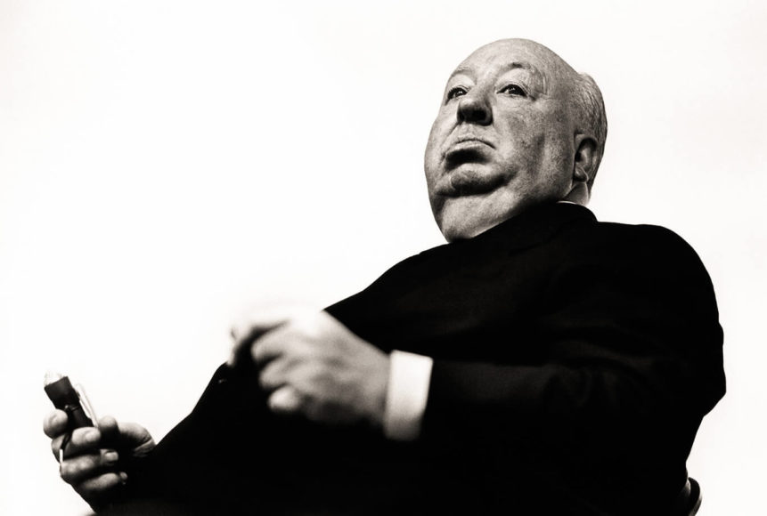 Alfred Hitchcock, Los Angeles 1970 © Greg Gorman