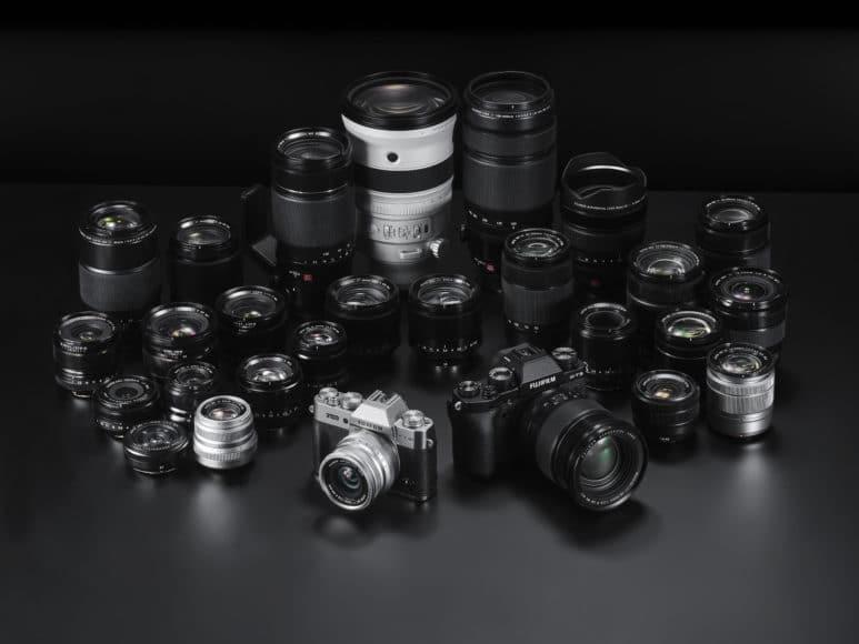 Fujifilm legt den Schwerpunkt seines Objektivportfolios auf Festbrennweiten und deckt alle wichtigen Brennweiten für Profis ab.