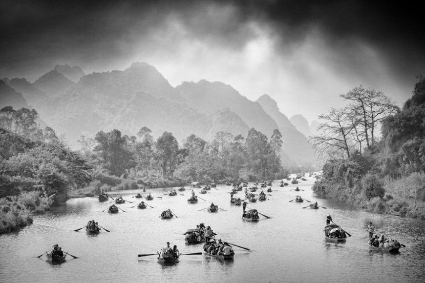 """Platz 7: """"Pilgerfahrt"""" von Manh Ngoc Nguyen aus Warendorf"""