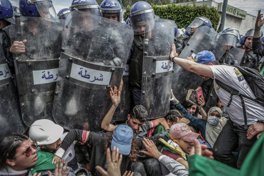© Farouk Batiche, Deutsche Presse-Agentur