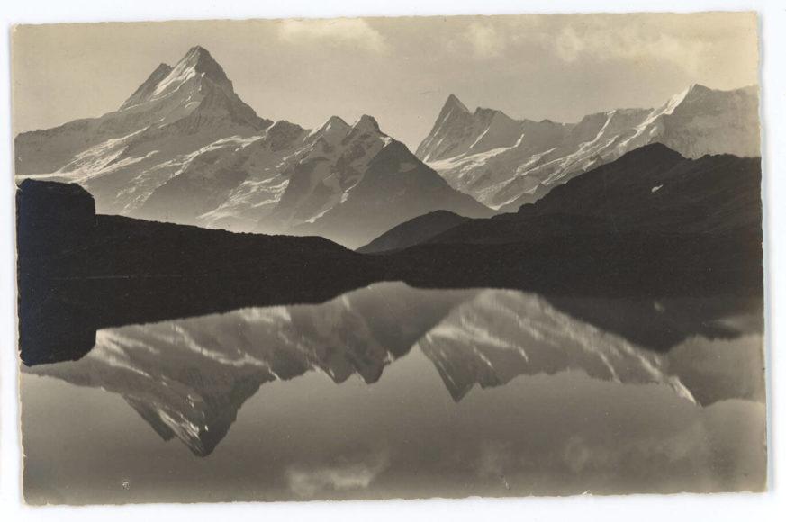 Grindelwald Bachsee Foto: Emanuel Gyger und Arnold Klopfenstein aus der Sammlung von Dr. Daniel Müller-Jentsch