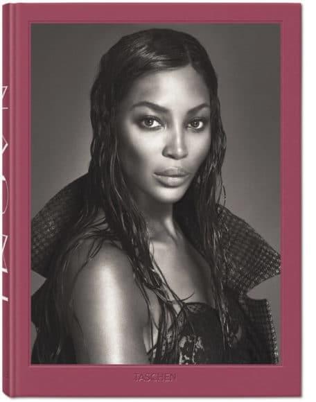 Das Buch: Naomi Campbell. | XL-Ausgabe. Updated Edition Josh Baker. Hardcover mit Ausklappseiten, 24,3 x 34 cm, 522 Seiten.