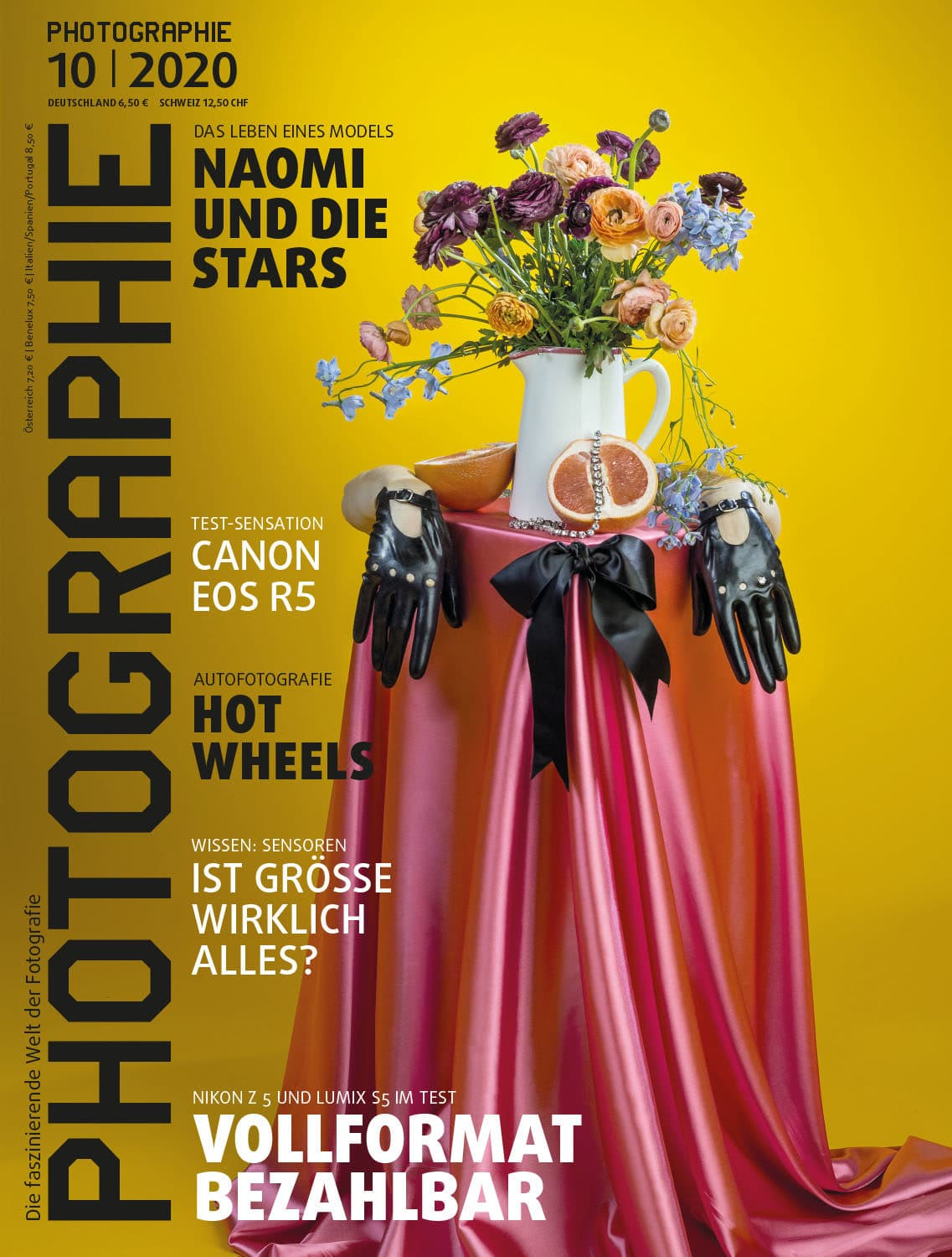 PHOTOGRAPHIE Digitales Magazin 10 2020 Cover