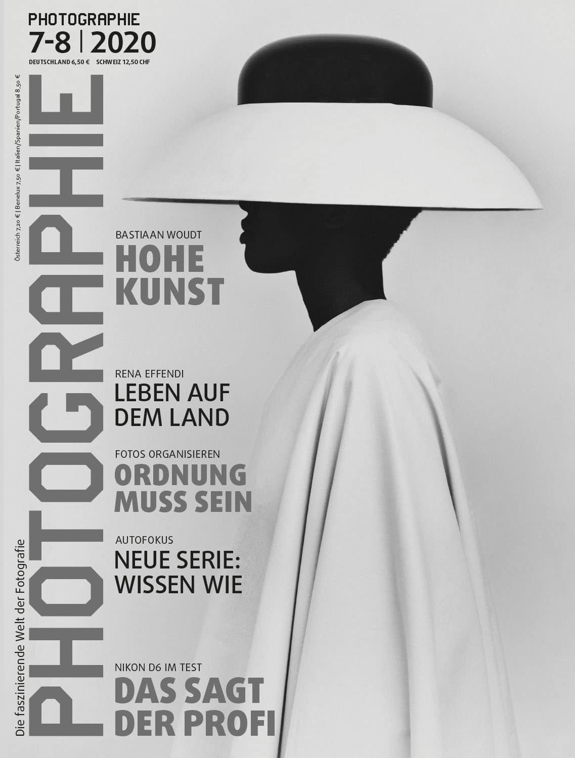 PHOTOGRAPHIE Digitales Magazin 7-8 2020 Cover