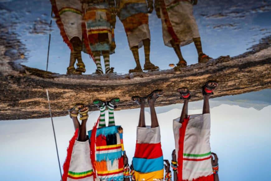 """© Ami Vitale, Fotoreporterin und Dokumentarfilmerin, USA: """"Die Natur hat uns eine deutliche Botschaft übermittelt. Sie hat uns daran erinnert, wie klein und zutiefst vernetzt unsere Welt tatsächlich ist. Es ist ein eindrücklicher Moment, unsere Beziehung zur Natur und zueinander neu zu durchdenken. Wir müssen uns um diesen Planeten kümmern und bestehende Habitate schützen."""""""