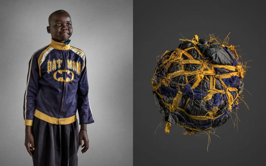 © Brian Hodges (Australia) | Odilo Lawiny - Handmade soccer balls | People Photographer Of the Year (Professional)