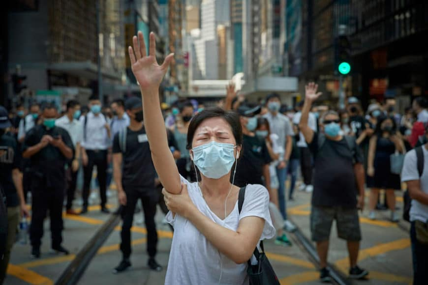 "© Kiran Ridley (France) | ""Pro Democracy Demonstrations, Hong Kong: The Revolution of Our Time"" 