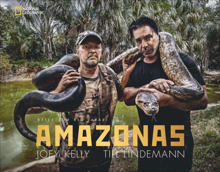 """Das Cover des Buches """"Amazonas"""". Ebenfalls fotografiert von Thomas Stachelhaus."""