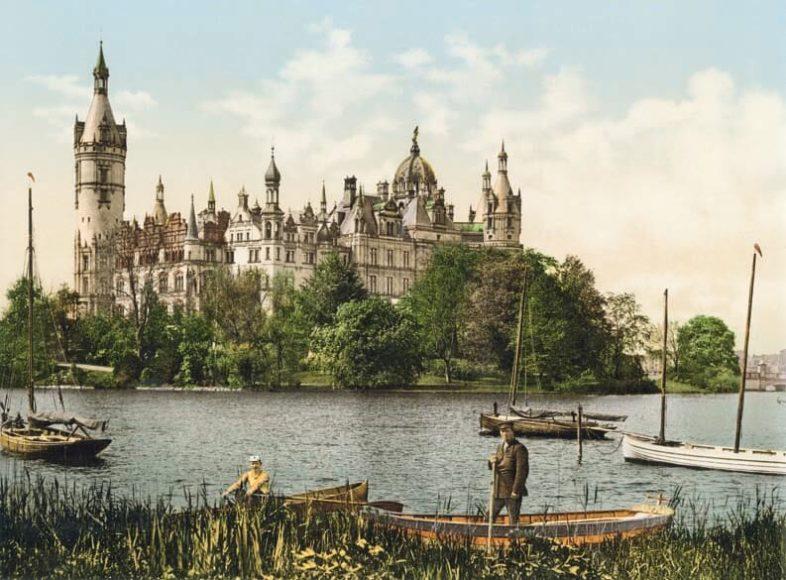 Schwerin, großherzogliches Schloss, Ostseite / © Collection Marc Walter und TASCHEN