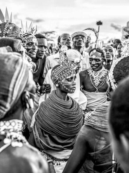 Samburu Braut / © Mario Marino