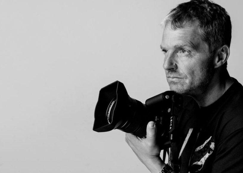 Manfred Baumann mit Kamera